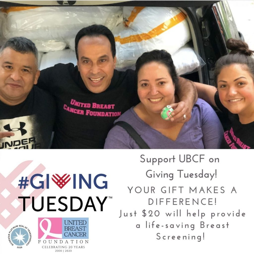 Support UBCF on GivingTuesday!