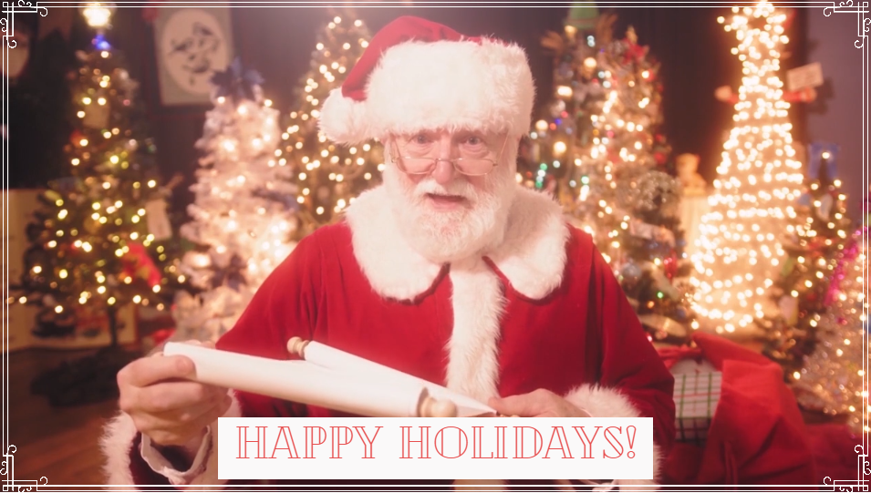 A Special Message from Santa
