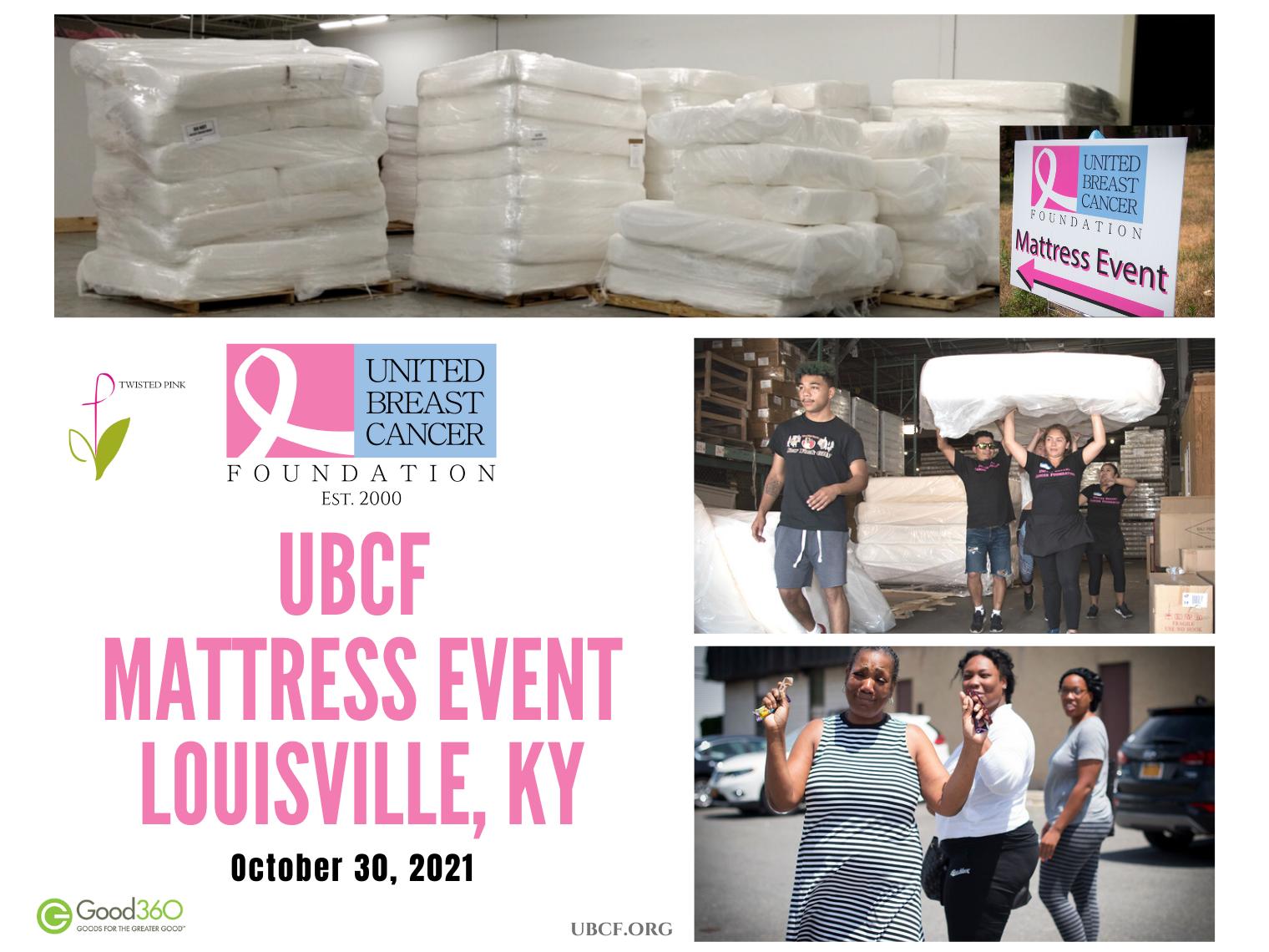 UBCF Louisville KY Mattress Event 2021